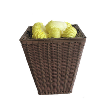 Supermarket fruit vegetable storage rack,rattan woven kitchen vegetable stand