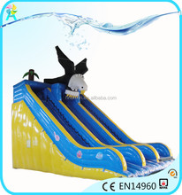 Cheap Eagle animal inflatable dry slide for sale