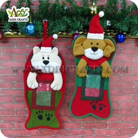 Best Selling Products 2017 In USA Decorative Felt Christmas Stockings Christmas Pet Stockings