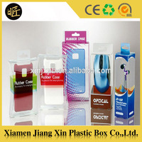 Good quality plastic cell phone case packaging box