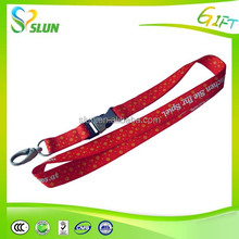 Cheap wholesale non woven no minimum order custom lanyards