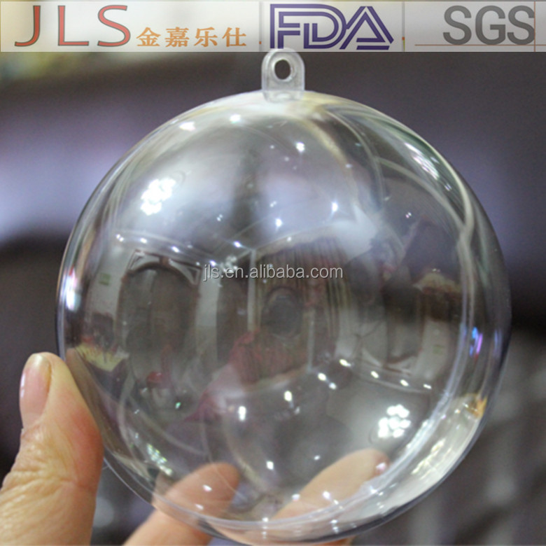 clear christmas ornaments balls for transparent acrylic box