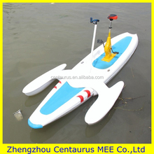 Hot selling water bike pedal boats for sale with lowest price