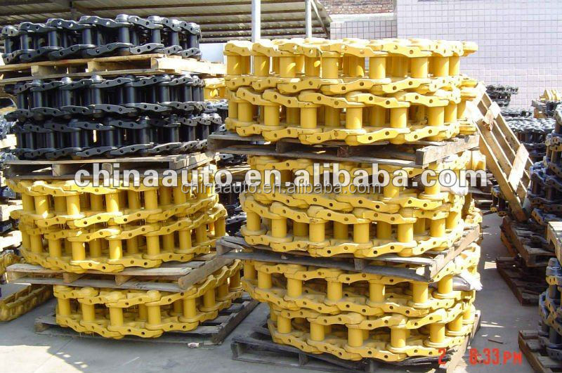 Excavator and Bulldozer Parts Track Chain for Komatsu for Hitachi for Caterpillar