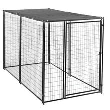 welded mesh style big metal dog kennel/anti-rust kennels for dog/Easy Assemble Dog Kennel