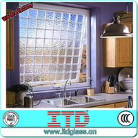 ITD-SF-DGM2730 Decorative hollow glass brick