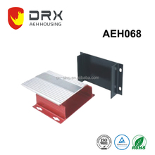 Extrusion Enclosure aluminum for PCB aluminum enclosure housing with printing aluminum extruded enclosure