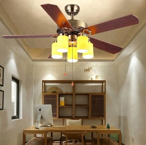Factory Price Modern Decorative Celing Fan Available Color Ceiling Fan With Light