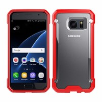 Guangzhou Wholesale Mobile Accessory TPU & PC Case Cover for Samsung Galaxy S7