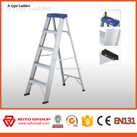 aluminio escalera, doublel side aluminum ladder, A type ladder