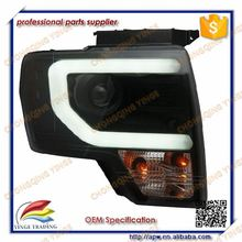 F150 Car Tuning Parts Led Strip Head Light With Full Led Turn Signal Light