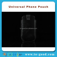 Black Universal Phone Bag Fits For Samsung Galaxy S4 mini Case, Case for Samsung Galaxy S4 IV Mini GT-i9190 / i9195