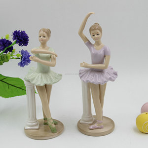 Dehua Factory Porcelain Ballerina Dancing Girl Birthday Gift