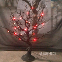 65CM Indoor Hotsale Artificial Manzanita Tree LED Lighted Tree Christams Holiday Decorative Tree