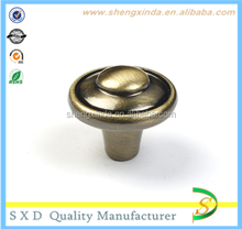 Factory On Sale Retro Made One Hole Zinc Alloy Furniture Knobs and Pulls with Custom Logo