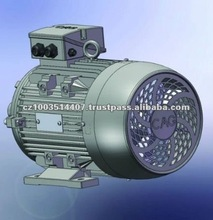 CAG IE 2 Aluminium Frame Three Phase 0.37kW Electric Motor Price