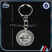 Beautiful fashion antique mini turbo keyring with custom logo