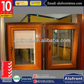 Aluminum Clad Wood Hinged Window With Built-in Blinds
