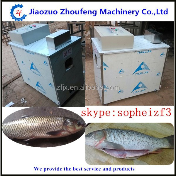 Automatic Fishs Processing Machine Fish Scale Removing