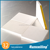 2015 hot promotional fireproof insulated ceiling tiles