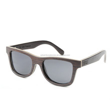 Famous Brand Italian Design Wooden Sun glasses Laminated Wood Sunglasses Wholesale In China
