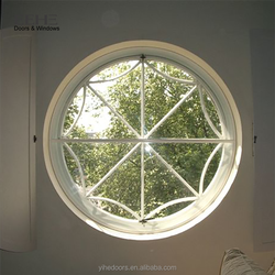 Cheap aluminum awning burglar proof round window