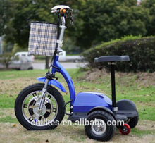 big adult three 3 wheel electric scooter