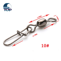 Fishing tackle aliexpress hot carp crane swivel with nice snap