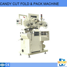 automatic stick hard candy packing machine for cutting and folding