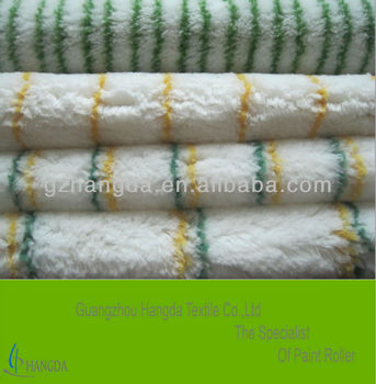 polyamide paint roller fabric white with double green stripe 1350g/sqm-18mm