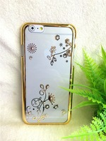 Hot Sale Electroplating point drill design mobile phone cover