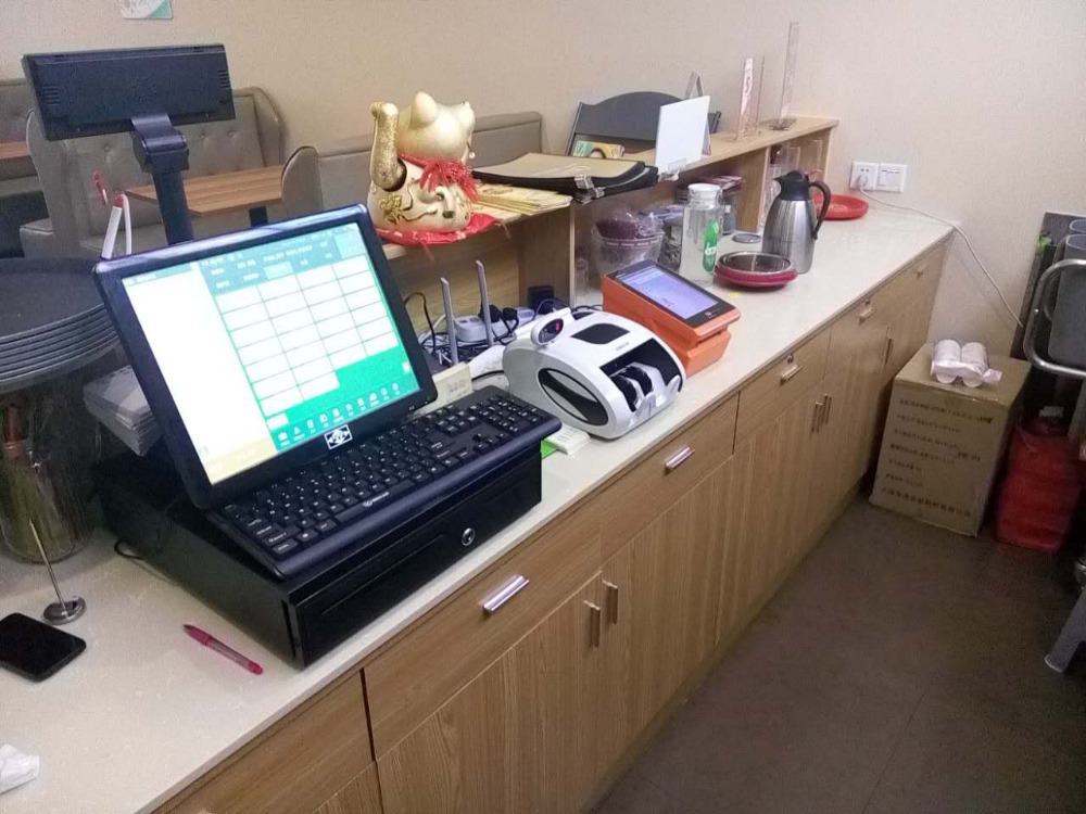 Quad Core Android POS system with Thermal printer and 3G