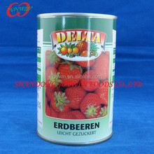 Cheap wholesale canned food products, canned strawberry in light syrup