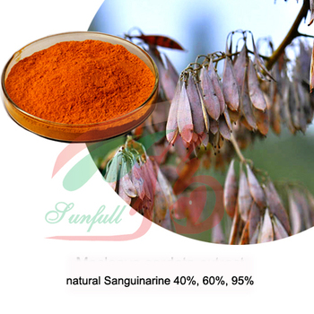 natural Macleaya cordata extract 60% Alkaloids (40%Sanguinarine & 20%Chelerythrine), antimicrobial, phytogenic feed additive