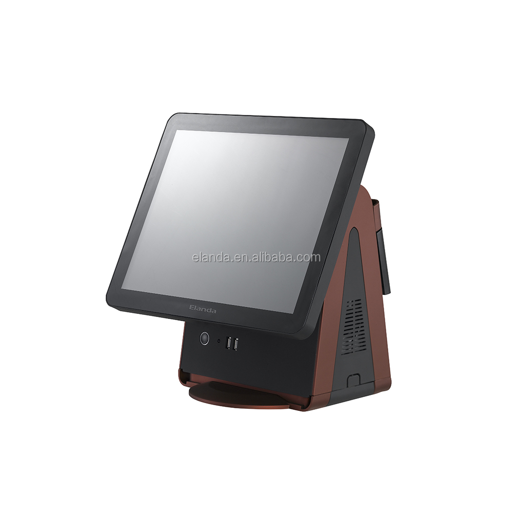 "15"" 17"" Pos Terminal/Pos System/ Epos All In One Pos Capacitive Touch Screen"