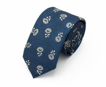 Wholesale Fashion Colorful Casual Floral Printing Polyester Neckties