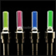 Outdoors Bicycle Bike Car Pair LED Neon Tire Wheel Nozzle Valve Core Glow Stick Light Glow Sticks Bicycle Wheel Light