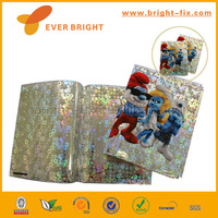 2014 Hot Sale and Supplier hard cover book/lenticular book covers/3d lenticular book cover