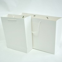 elegant customized luxury high quality trade assurance white bag for photo album packing
