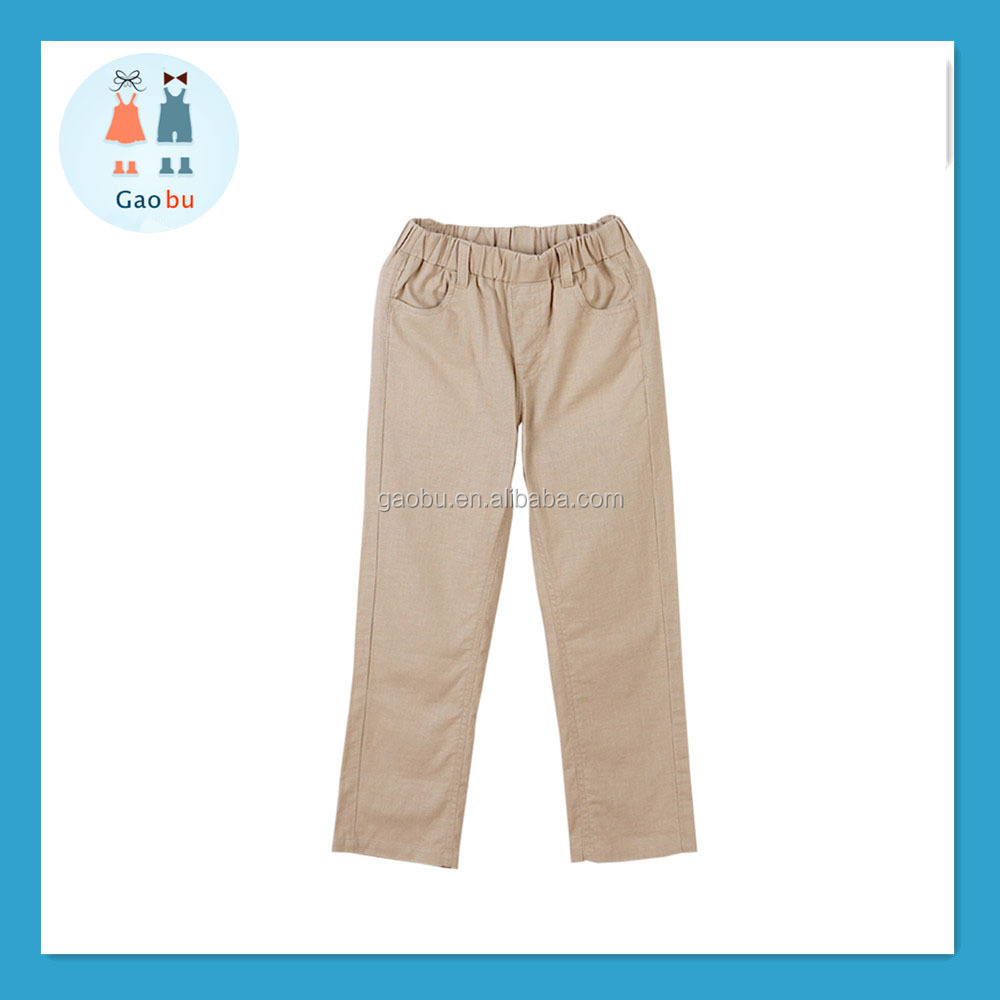 Wholesale 2017 spring Children clothing European style boys cotton pants