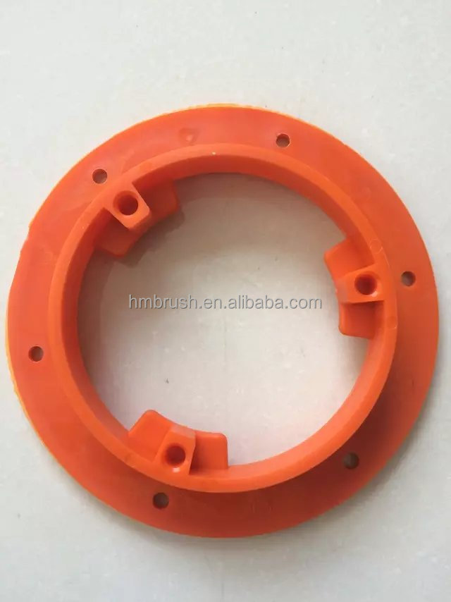 Customized floor scrubber brush parts buckles