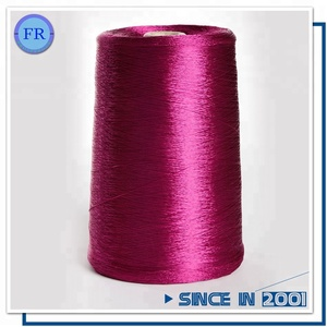 Wholesale 100% Dyed Viscose Rayon Filament Yarn from China Factory for machine knitting and weaving