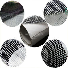 ECO Solvent Printer Printable Self Adhesive Vinyl One Way Perforated Vinyl Window Film