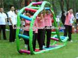 CE inflatable group learning games