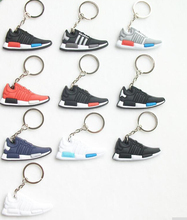 glow air sneaker 3d keychains mini running shoe keychain