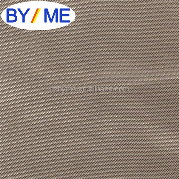 Waterproof fabric PU coated 1680D Double for computer Bag