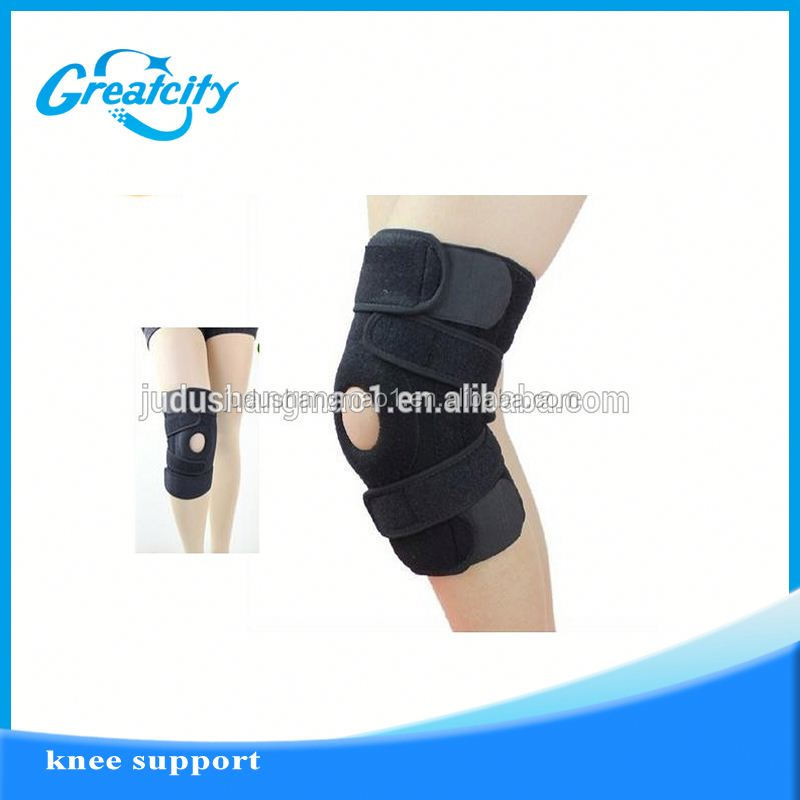 High elastic wool Compression knitting elastic knee support adjustable pressurized elastic warming knee supports knee braces