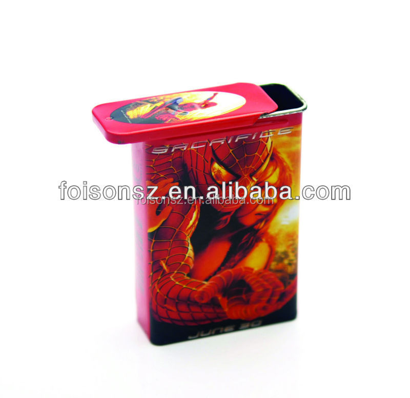 metal tobacco cases
