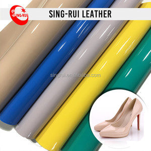 Patent PU Synthetic Leather For Shoes
