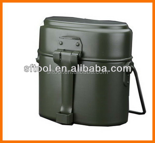 Aluminum military lunch box/ mess tin / portable lunch box FH-01